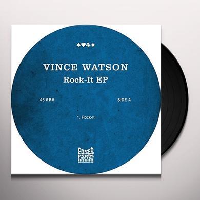 Vince Watson ROCK-IT (EP) Vinyl Record
