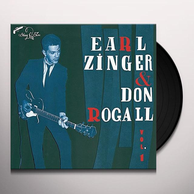 Earl Zinger & Don Rogall VOL. 1 Vinyl Record