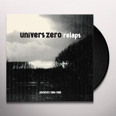 UNIVERS ZERO RELAPS / ARCHIVES 1984-1986 Vinyl Record