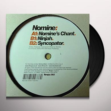 NOMINE'S CHANT Vinyl Record