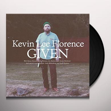 Kevin Lee Florence GIVEN Vinyl Record - Digital Download Included
