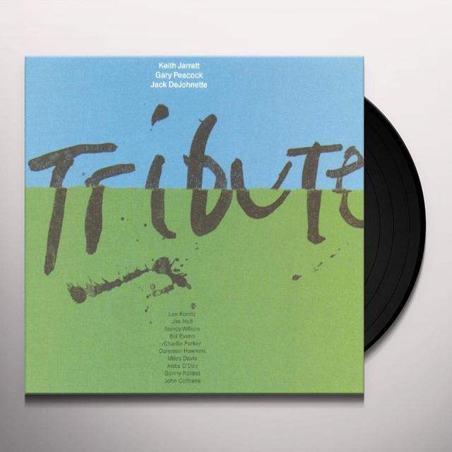 Keith Jarrett TRIBUTE Vinyl Record