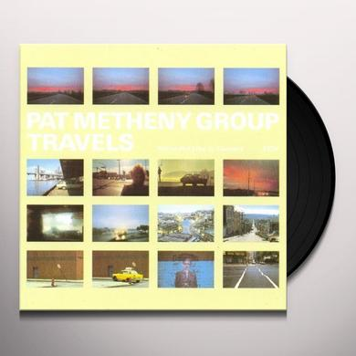 Pat Metheny TRAVELS Vinyl Record - 180 Gram Pressing