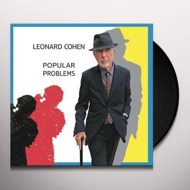 Leonard Cohen POPULAR PROBLEMS Vinyl Record - 180 Gram Pressing
