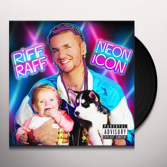 Riff Raff NEON ICON Vinyl Record - Digital Download Included