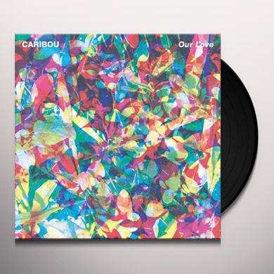 Caribou OUR LOVE Vinyl Record - 180 Gram Pressing, Digital Download Included
