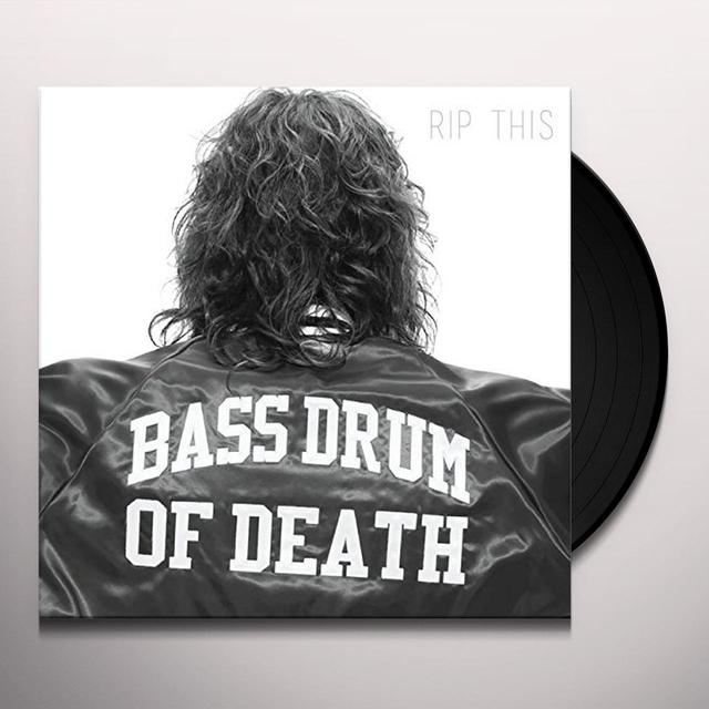 Bass Drum Of Death RIP THIS Vinyl Record - Digital Download Included