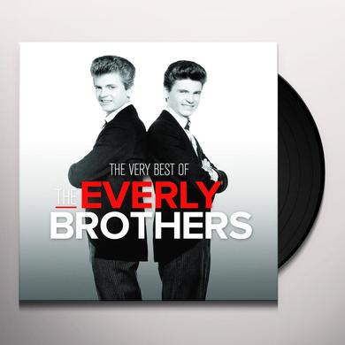 The Everly Brothers VERY BEST OF Vinyl Record - Holland Import