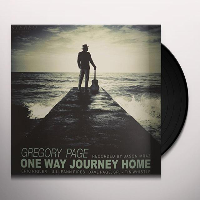 Gregory Page ONE WAY JOURNEY HOME Vinyl Record - Holland Import