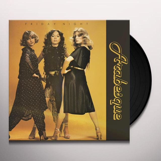 ARABESQUE FRIDAY NIGHT Vinyl Record - Italy Release