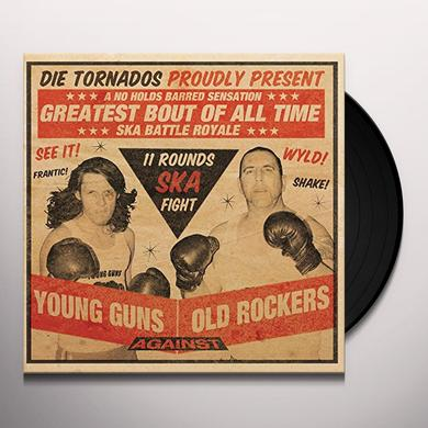 TORNADOS YOUNG GUNS AGAINST OLD Vinyl Record - Holland Import