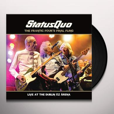 Status Quo FRANTIC FOUR'S FINAL Vinyl Record - Holland Import
