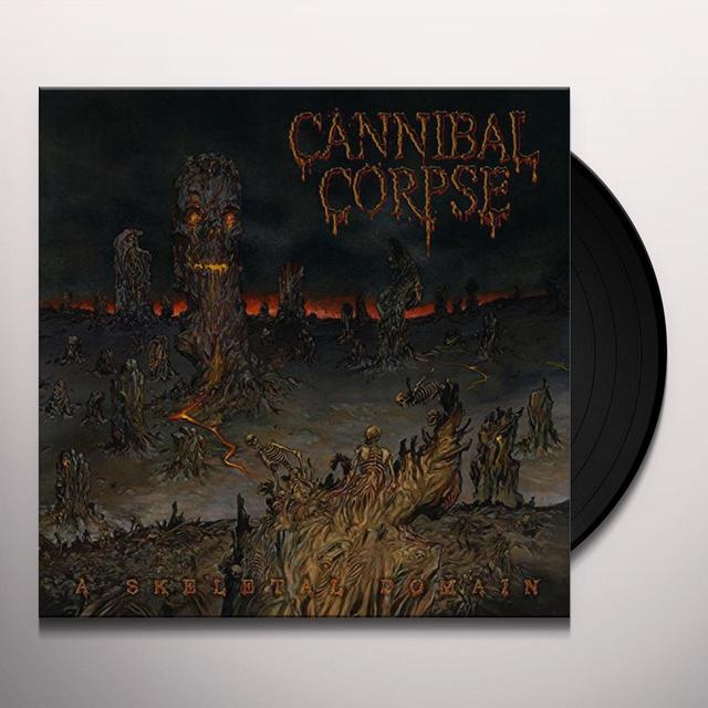 Cannibal Corpse SKELETAL DOMAIN Vinyl Record - UK Import