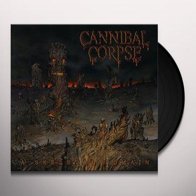 Cannibal Corpse SKELETAL DOMAIN Vinyl Record - Holland Import