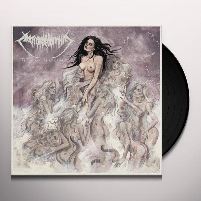 ANTROPO-MORPHIA RITES OV PERVERSION Vinyl Record - UK Import
