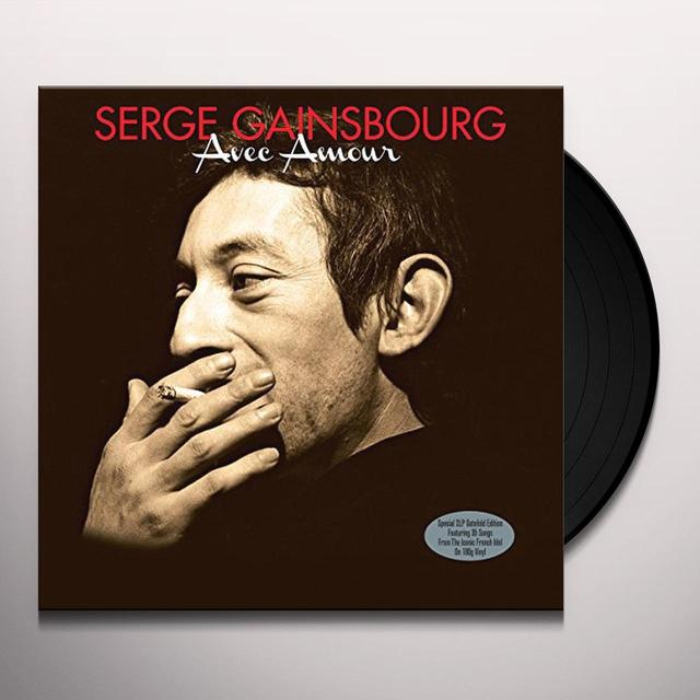 Serge Gainsbourg AVEC AMOUR Vinyl Record - UK Import