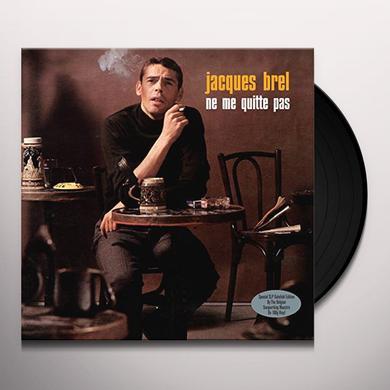 Jacques Brel NE ME QUITTE PAS Vinyl Record