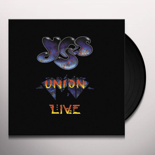 Yes UNION LIVE Vinyl Record - UK Import
