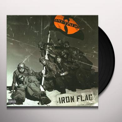 Wu-Tang Clan IRON FLAG Vinyl Record - Holland Import