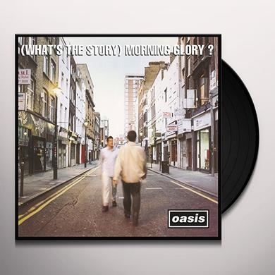 Oasis (WHATS THE STORY) MORNING GLORY  (WSV) (BOX) Vinyl Record - w/CD
