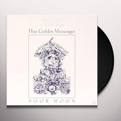 Hiss Golden Messenger POOR MOON Vinyl Record
