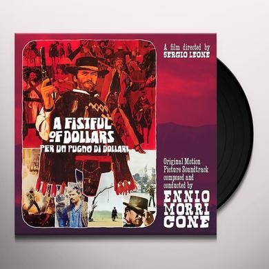 Ennio Morricone PER UN PUGNO DI DOLLARI / FISTFUL OF / O.S.T. Vinyl Record