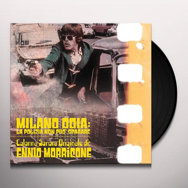 Ennio Morricone MILANO ODIA: LA POLIZIA NON PUO SPARARE / O.S.T. Vinyl Record