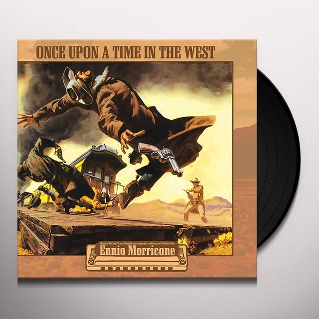 Ennio Morricone C'ERA UNA VOLTA IL WEST / ONCE UPON A / O.S.T. Vinyl Record
