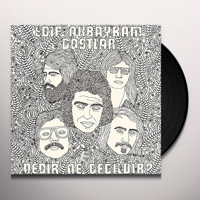 Edip Akbayram & Dostlar NEDIR NE DEGILDIR (WB) Vinyl Record - Remastered