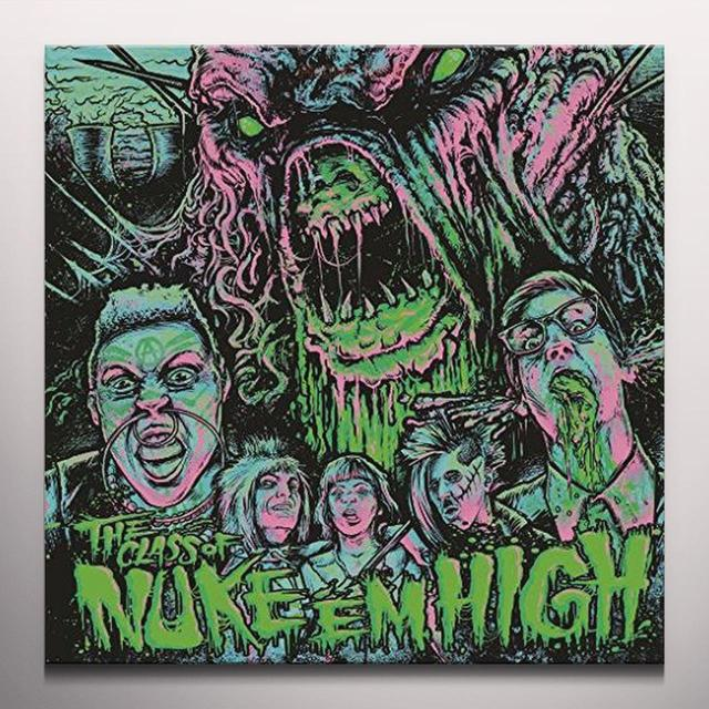 CLASS OF NUKE EM HIGH / O.S.T. (BLK) (GRN) (DIGC) CLASS OF NUKE EM HIGH / O.S.T.   (DIGC) Vinyl Record - Black Vinyl, Green Vinyl