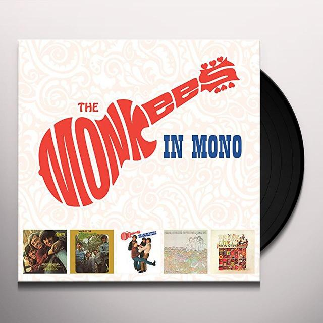 MONKEES IN MONO  (BOX) Vinyl Record - 180 Gram Pressing
