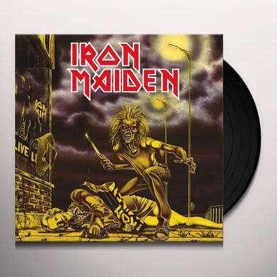 Iron Maiden SANCTUARY Vinyl Record - Limited Edition