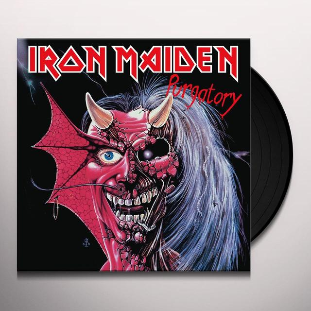 Iron Maiden PURGATORY Vinyl Record - Limited Edition