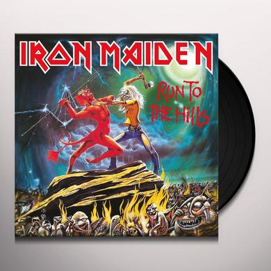 Iron Maiden RUN TO THE HILLS Vinyl Record - Limited Edition