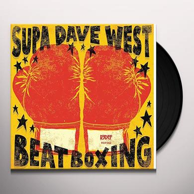 SUPA DAVE WEST BEAT BOXING Vinyl Record