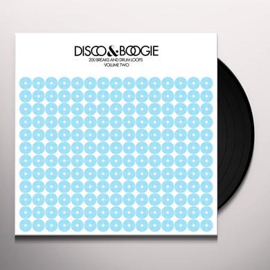 Disco & Boogie 200 BREAKS & DRUM LOOPS 2 Vinyl Record