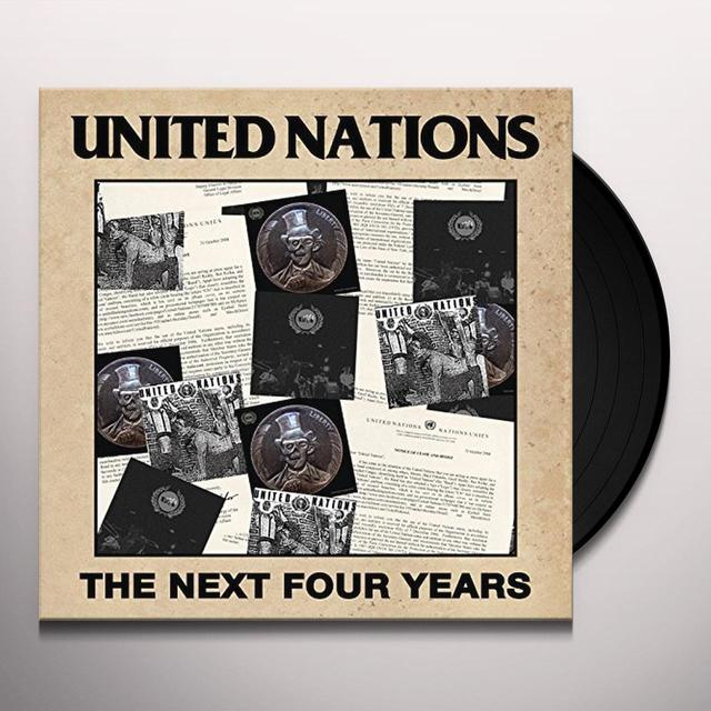 United Nations NEXT FOUR YEARS Vinyl Record