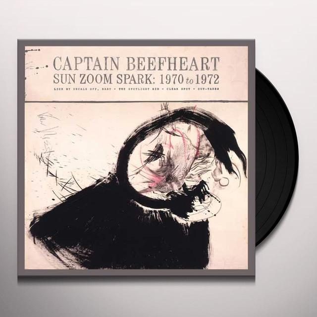 Captain Beefheart SUN ZOOM SPARK: 1970 TO 1972 Vinyl Record