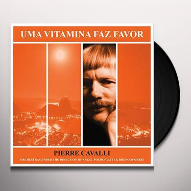 Pierre Cavalli UNA VITAMINA FAZ FAVOR Vinyl Record