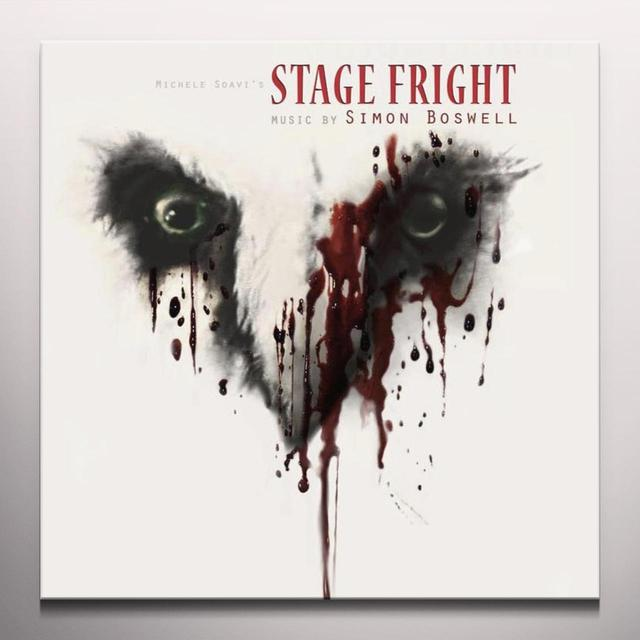 Simon Boswell STAGE FRIGHT / O.S.T. Vinyl Record - Clear Vinyl