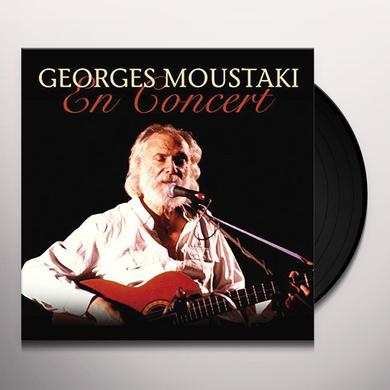 Georges Moustaki EN CONCERT Vinyl Record