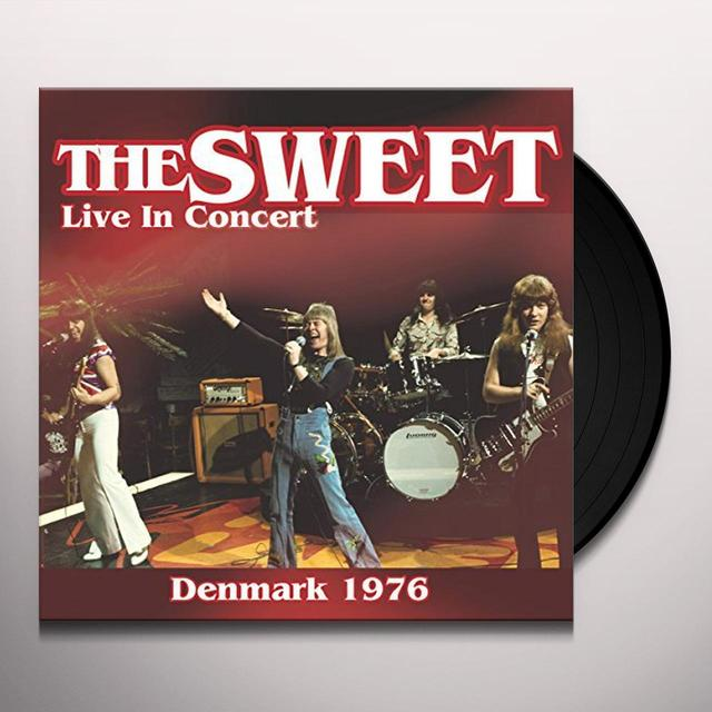 Sweet LIVE IN CONCERT 1976 Vinyl Record