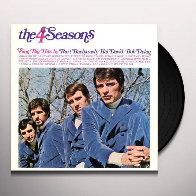 Four Seasons SING BURT BACHARACH & BOB DYLAN Vinyl Record