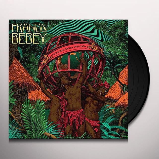 Francis Bebey PSYCHEDELIC SANZA 1982-1984 Vinyl Record