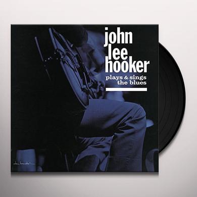 John Lee Hooker PLAYS & SINGS THE BLUES Vinyl Record