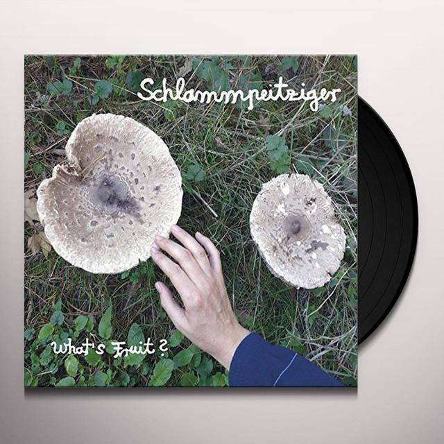 Schlammpeitziger WHATS FRUIT Vinyl Record