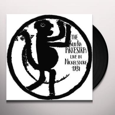 Sun Ra Arkestra LIVE IN NICKELSDORF 1984 Vinyl Record