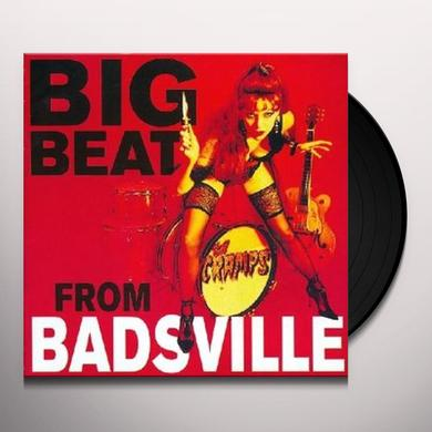 The Cramps BIG BEAT FROM BADSVILLE Vinyl Record