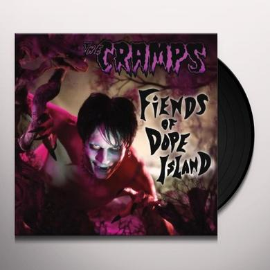 The Cramps FIENDS OF DOPE ISLAND Vinyl Record