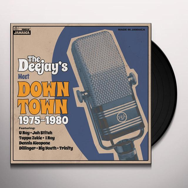 DEEJAYS MEET DOWN TOWN 1975-1980 / VARIOUS Vinyl Record